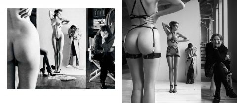 See Flash You and Me lingerie in a Helmut Newton-inspired photoshoot