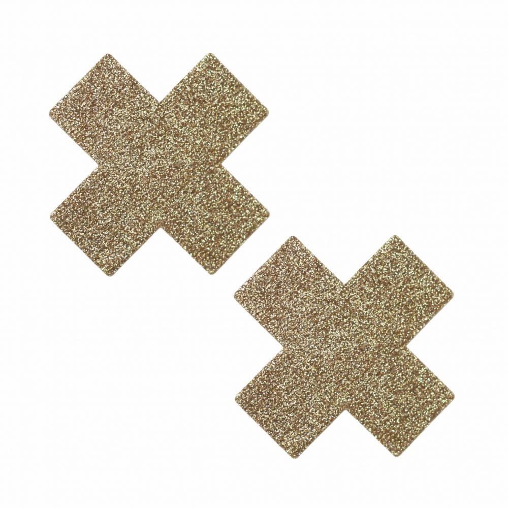 Gold Glitter X Pasties