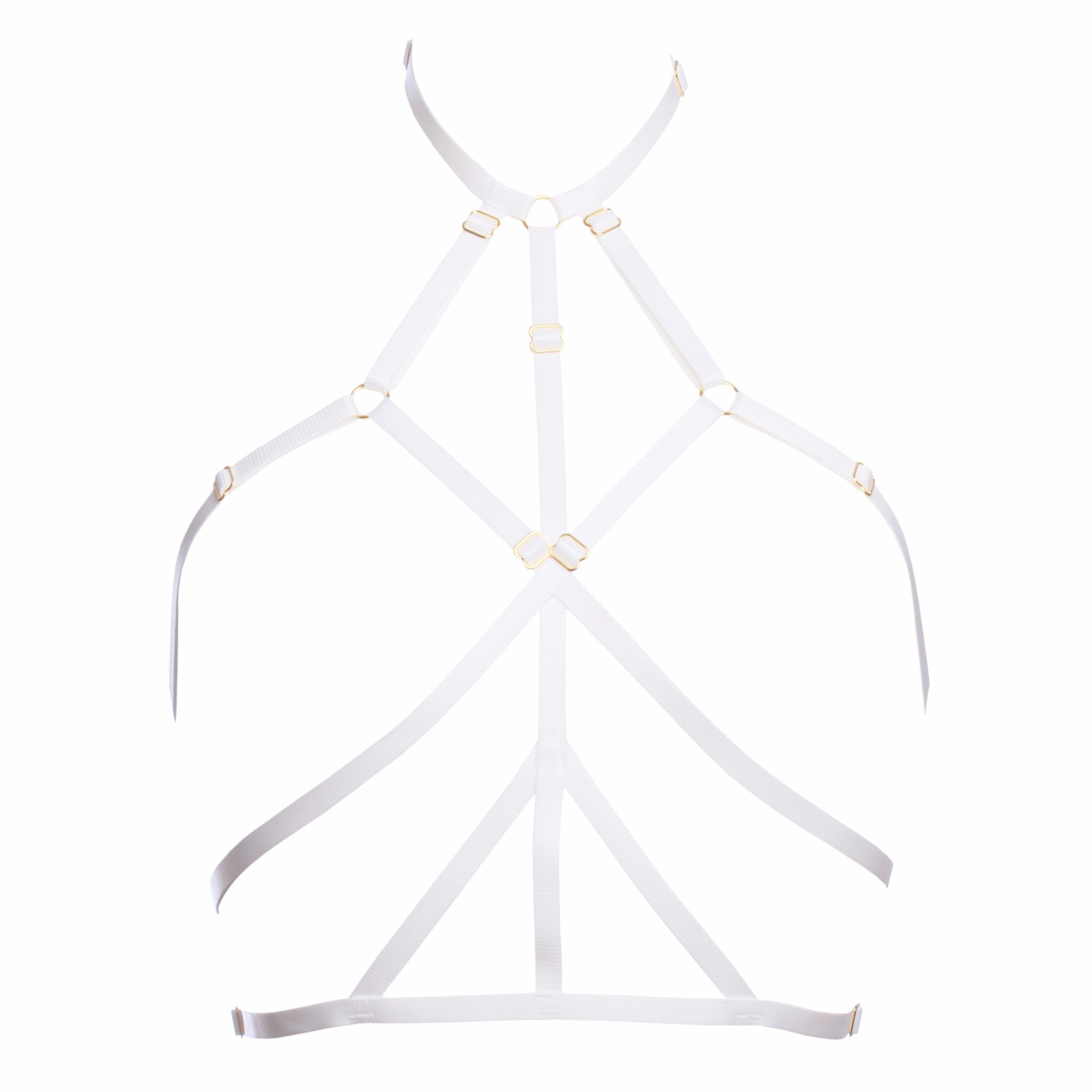 The Ruby Harness in White