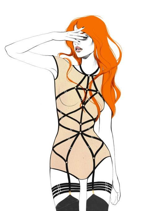 "Every Harness Has Its Story: Our First Playsuit ""Magdalena"""