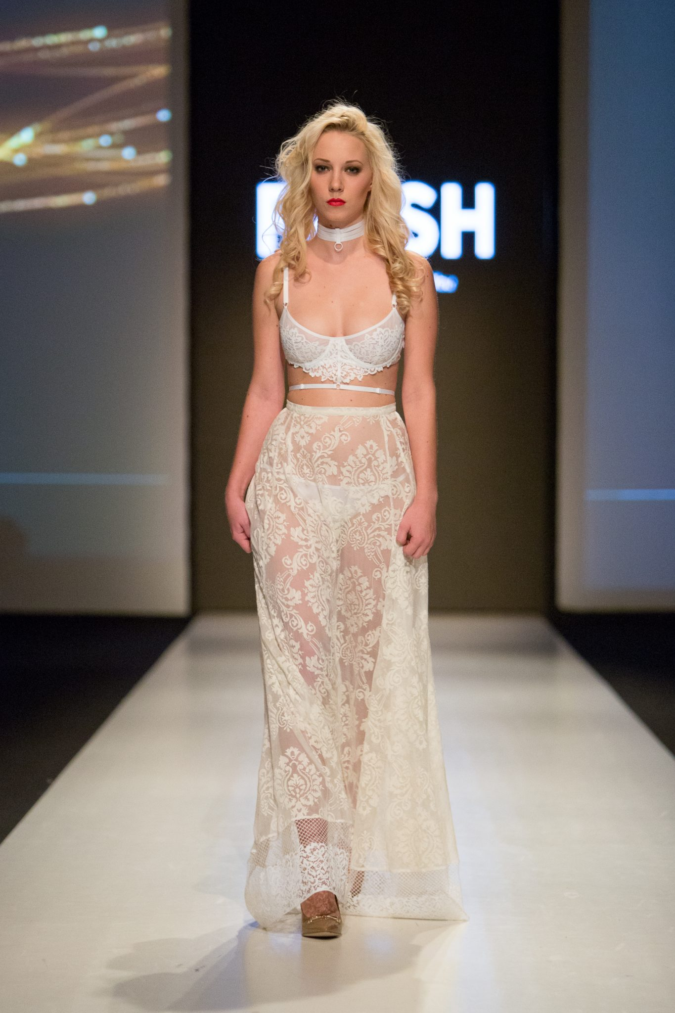 Flash You and Me Capsule Collection In Riga Fashion Week's Lingerie Show