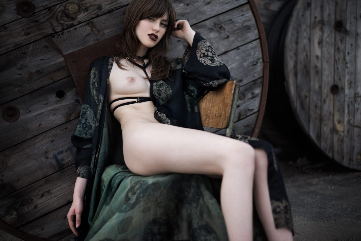 editorial for Beware Magazine by Martial Lenoir