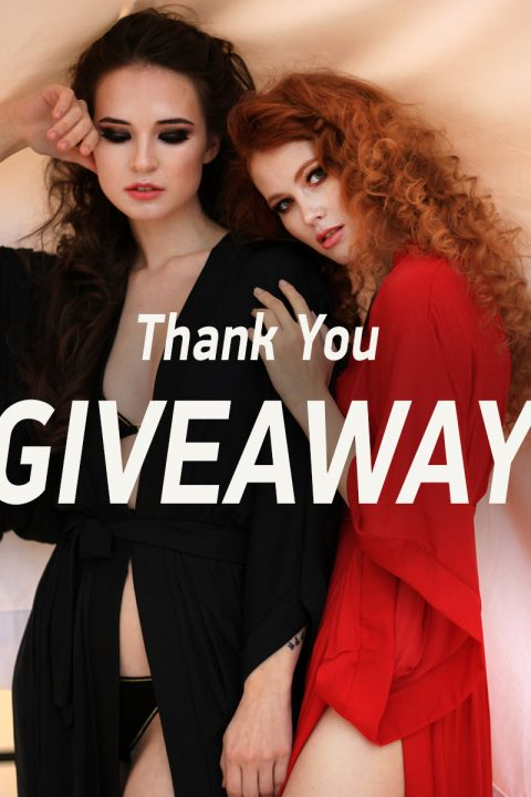 Thank You Very Much GIVEAWAY